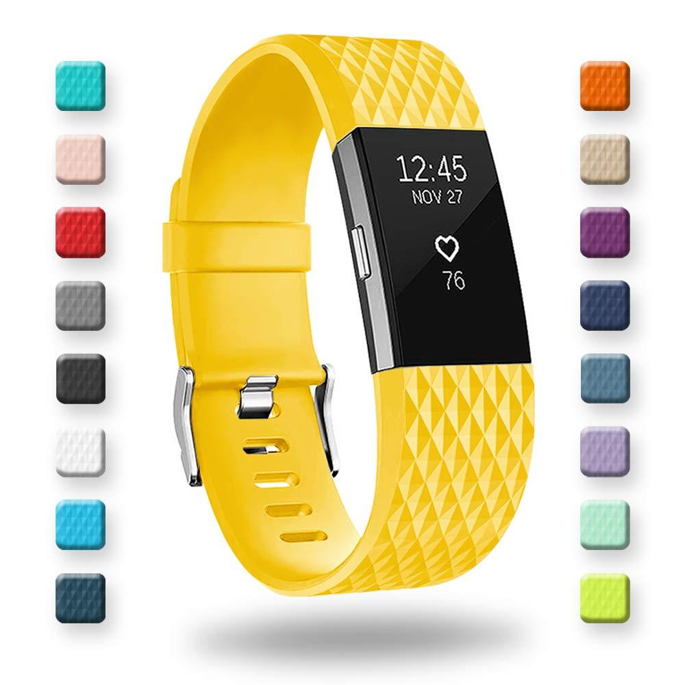 Malla de reloj Fitbit Charge 2, Classic y Special Edi (5PKY)