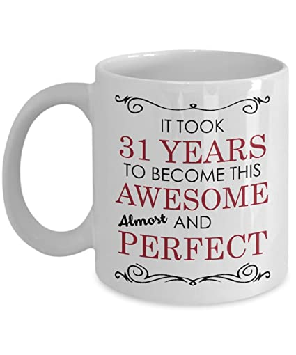31st Birthday Gift Mug