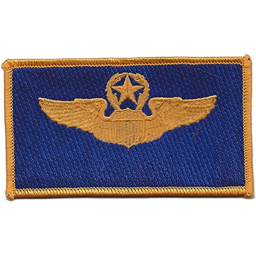 Command Pilot Wings Patch Blue And -