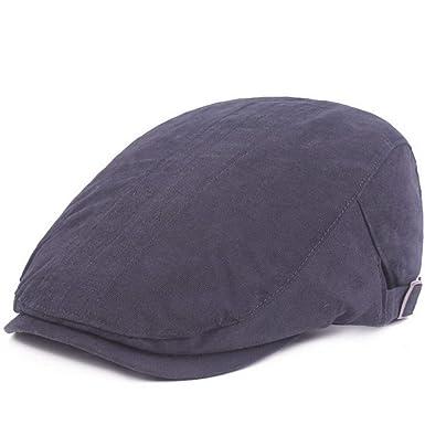 Xfentech Gorras Planas de algodón Tamaño de Viaje Sombrero ...