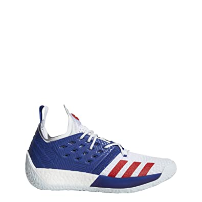 e2e87bbe39b adidas Men s Harden Vol 2 Basketball Shoe Mystery Ink White Blue Tint Size  7.5