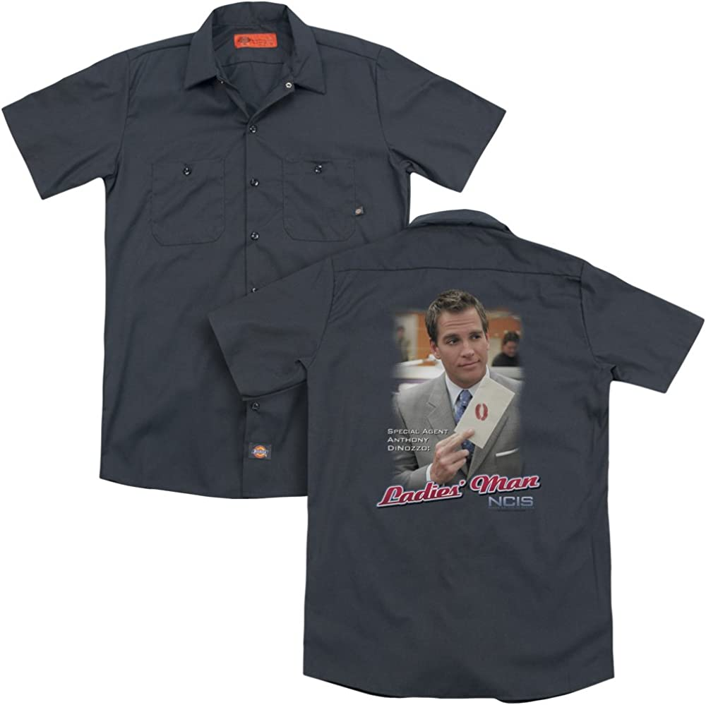 Ncis Ladies Man Adult Work Shirt
