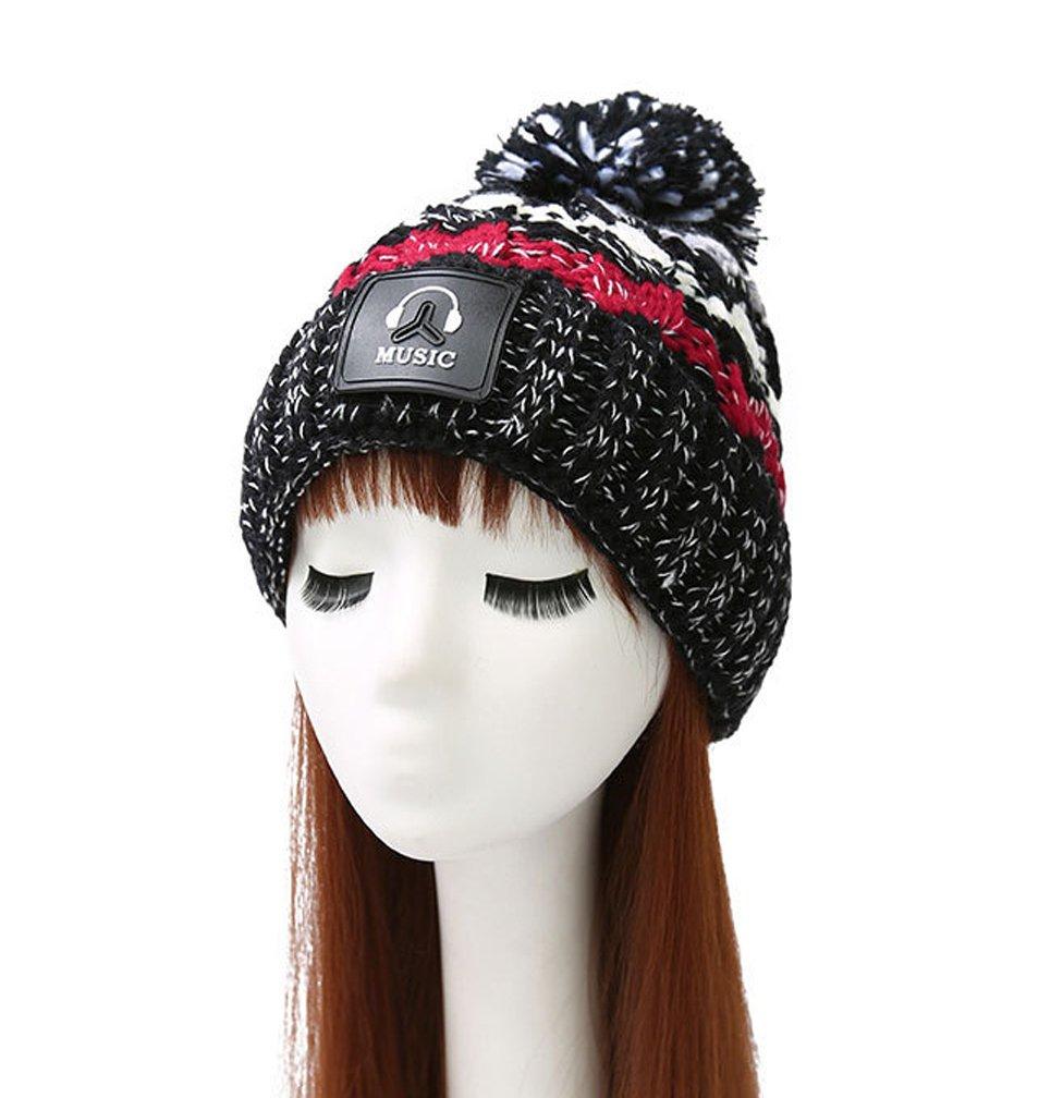 Fortuning's JDS Donna Inverno colore misto lana Cappelli Cosy cappelli  lavorati a maglia: Amazon.it: Abbigliamento