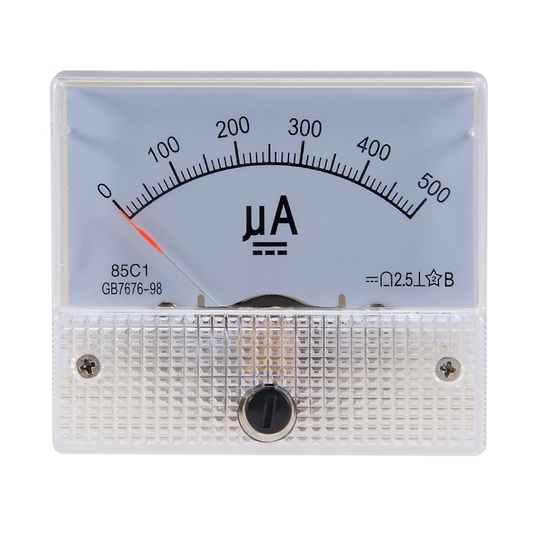 uxcell 65C5-A Analog Current Panel Meter DC 30A Ammeter for Circuit Testing Ampere Tester Gauge 1 PCS a18042000ux0425