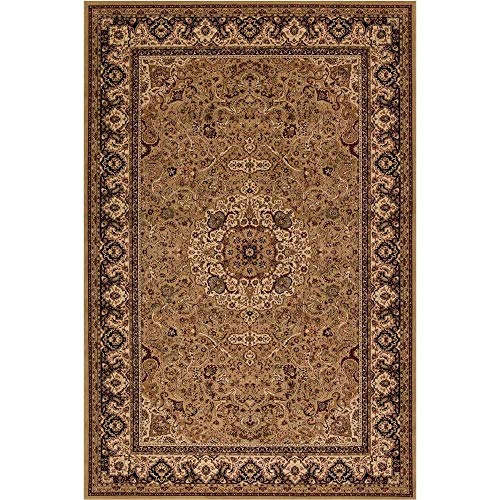 """Concord Global Trading Concord Global Persian Classics Iris Gold Area Rug - 5'3"""" x 7'7"""" from Concord Global Trading"""