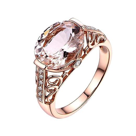 Amazon Com Yamally Rings For Ladies Love Promise Gemstone Wedding