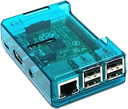 H HILABEE 1x Cajas De ABS para Raspberry Pi 3 Modelo B + 3B 2B 3B + Caja De La Cubierta De La Caja De Enfriamiento: Amazon.es: Electrónica