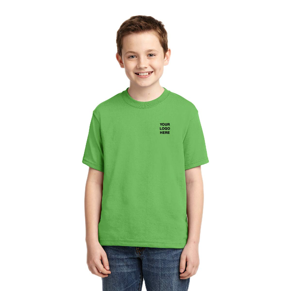 Jerzees Youth Dri-Power T-Shirt - 24 Qty - 8.13 Each - Promotional Tee