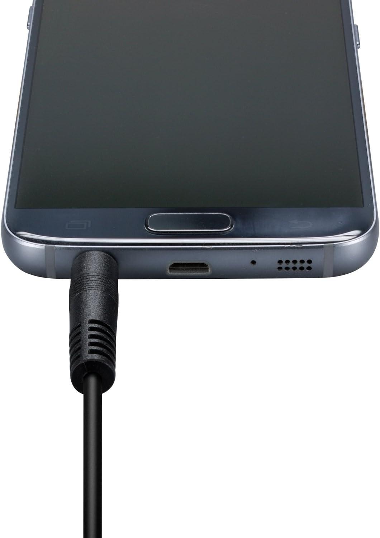 f/ür Hi-Fi Stereo-Anlagen schwarz Receiver rot//wei/ß Cinch Stecker RCA rot//wei/ß auf Cinch Stecker RCA ecabo 0,5m Cinch-Kabel 2 Cinch auf 2 Cinch Audioger/äte