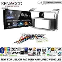 Volunteer Audio Kenwood DDX9904S Double Din Radio Install Kit with Apple CarPlay Android Auto Bluetooth Fits 2010-2013 Non Amplified Toyota 4Runner