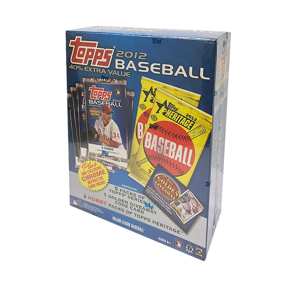 2012 Topps Baseball Value Box