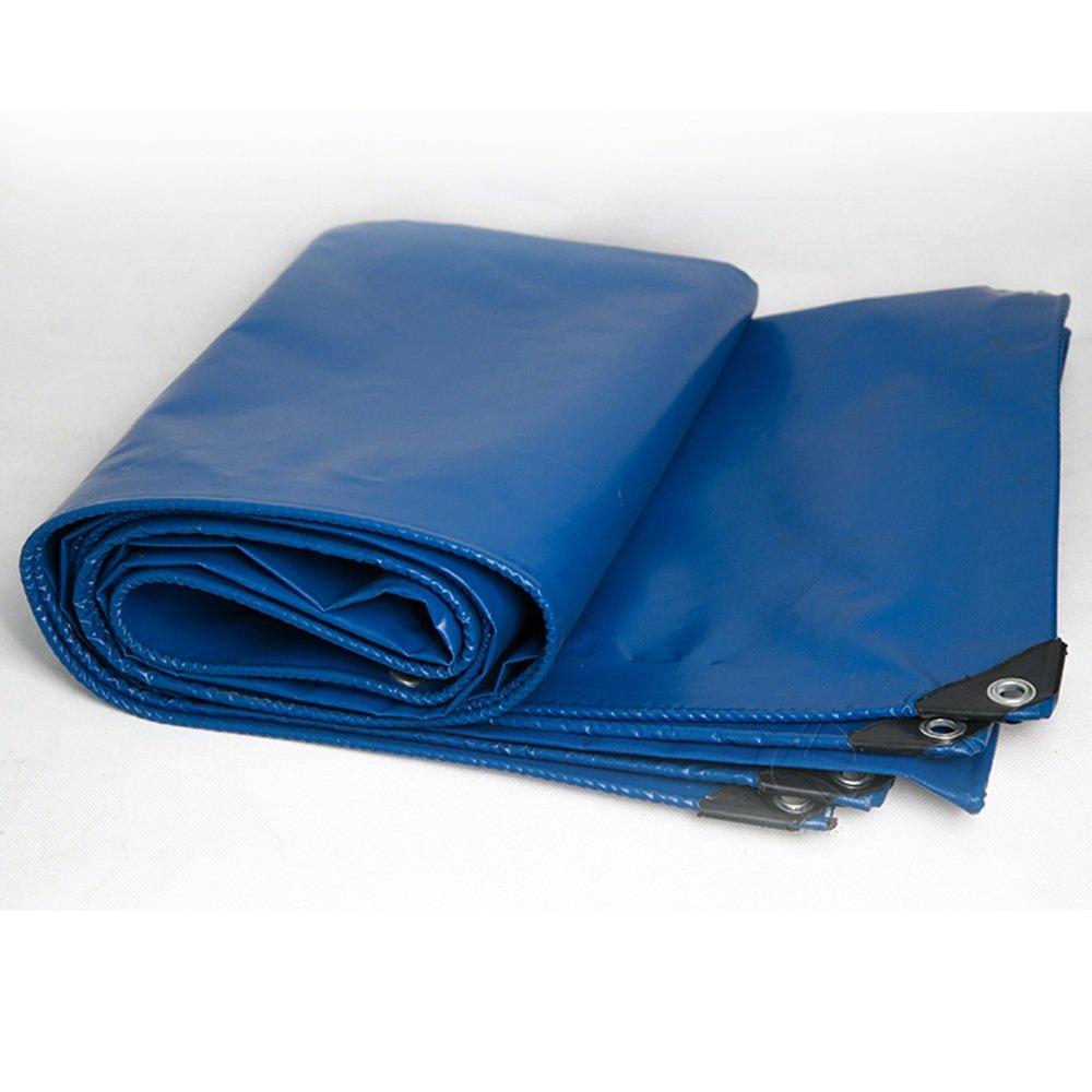 Pengbu MEIDUO Awning, Canopy Plane Abdeckung Blau Heavy Duty Dickes Material, Wasserdicht, Ideal für Plane Zelt, Stiefel, RV Oder Pool Cover  450 g m² Dicke 0,43 mm für Draußen