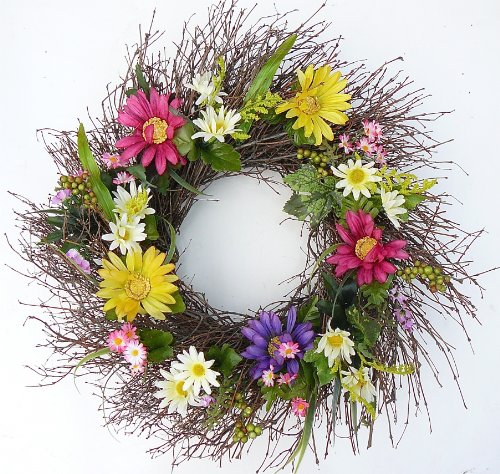Fancy Francie All Weather Front Door Wreath