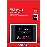 Hd SSD 240gb Sandisk Plus 530mb/s G26 Sata 3 (20x Mais Rápido) ultra velocidade