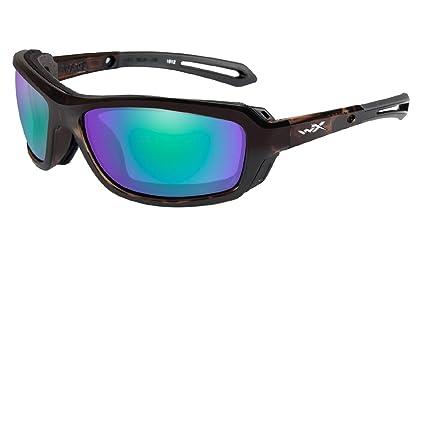 a8318e8b6de42 Amazon.com  Wiley X Wave Emerald Mir Gloss Demi  Sports   Outdoors