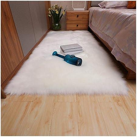Amazon.com: Evangelia.YM Ultra Soft Area Rugs Pure White ...