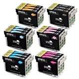 MIROO Remanufactured Ink Cartridges 98 High Capacity Replacement, Used with Artisan 810 700 800 710 725 730 835 837 (Pack of 18)