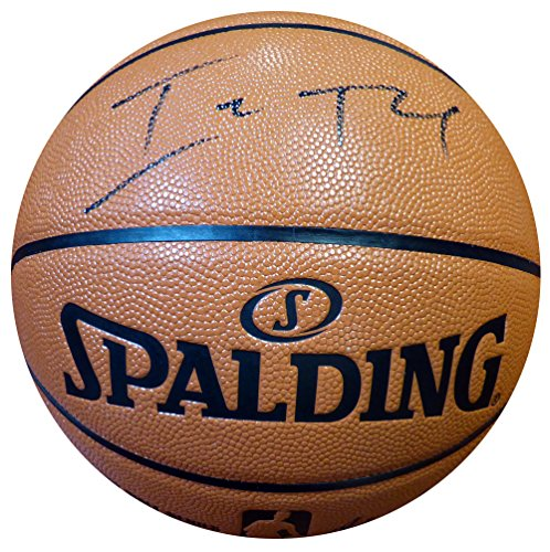 Boston Celtics Autographs (Isaiah Thomas Autographed Spalding I/O Basketball Boston Celtics)