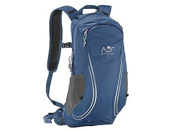 Crivit Función Mochila Mochila de trekking senderismo distintos colores 25 litros, Gris - Azul: Amazon.es: Deportes y aire libre