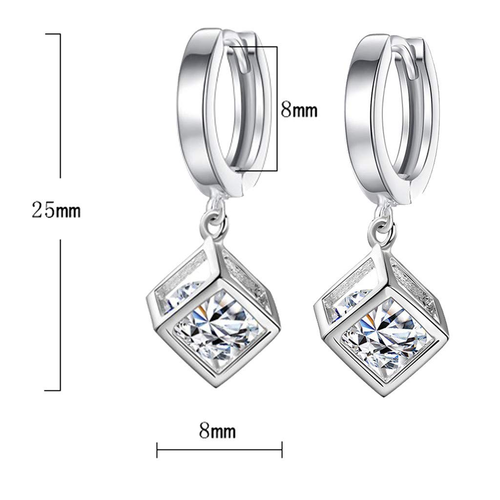 Sapienc Ear Jewelry Fashion Temperament Ladies Cubic Zircon Ear Clip Ladies Ear Jewelry