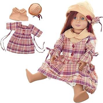 Amazon.com: Lamptti 18 pulgadas muñeca Traje belleza ...