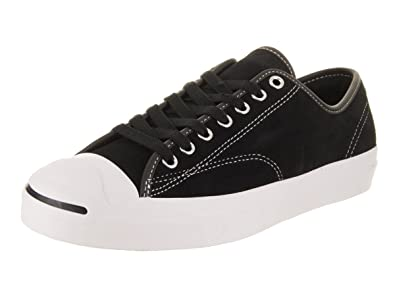 4dad14a3f39c08 Converse Adults  Skate Jp Pro Ox Suede Fitness Shoes Black White 001 5.5 UK