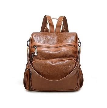 Xiuy Fashion Mochilas Escolares Gran Capacidad Antirrobo Bolsas Salvaje Tablet Backpack Simple Viajes Mochilas Comodas Mochilas Tipo Casual para Mujeres: ...