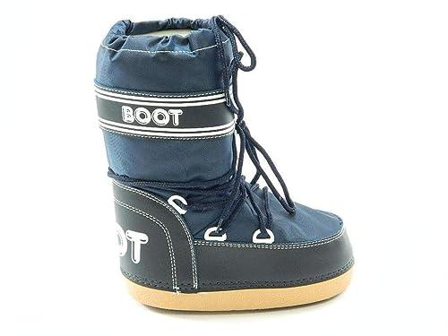 4383715aed Boot Doposci da Neve in Offerta Uomo Blu 45 EU
