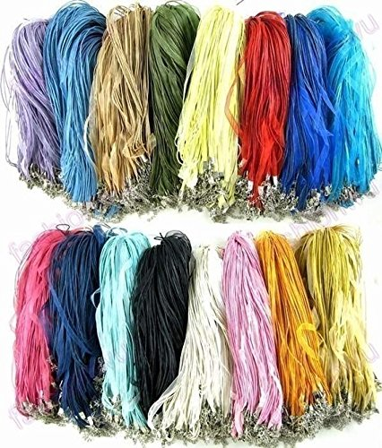 organza-cord-necklaces-pack-of-100-neck-cords-10-free-with-clasps-rainbow-
