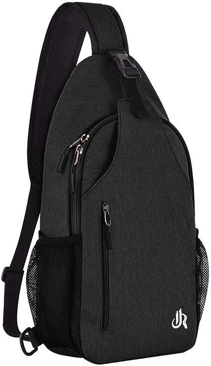 Y/&R Direct 14 Colors Lightweight Sling Backpack Sling Bag Travel Hiking Small Backpack for Women Men Kids Gifts