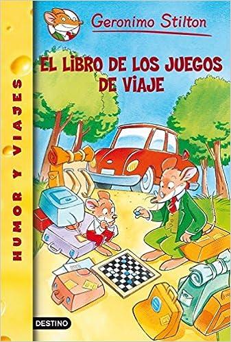 ab62d59d523bf El libro de los juegos de viaje  Geronimo Stilton 34  Amazon.es  Geronimo  Stilton  Libros