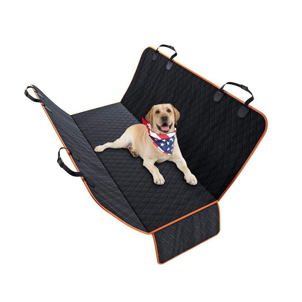 KYCD bed mats Pet car mat Non-slip waterproof pet out rear seat cushion Dog car mat (black)
