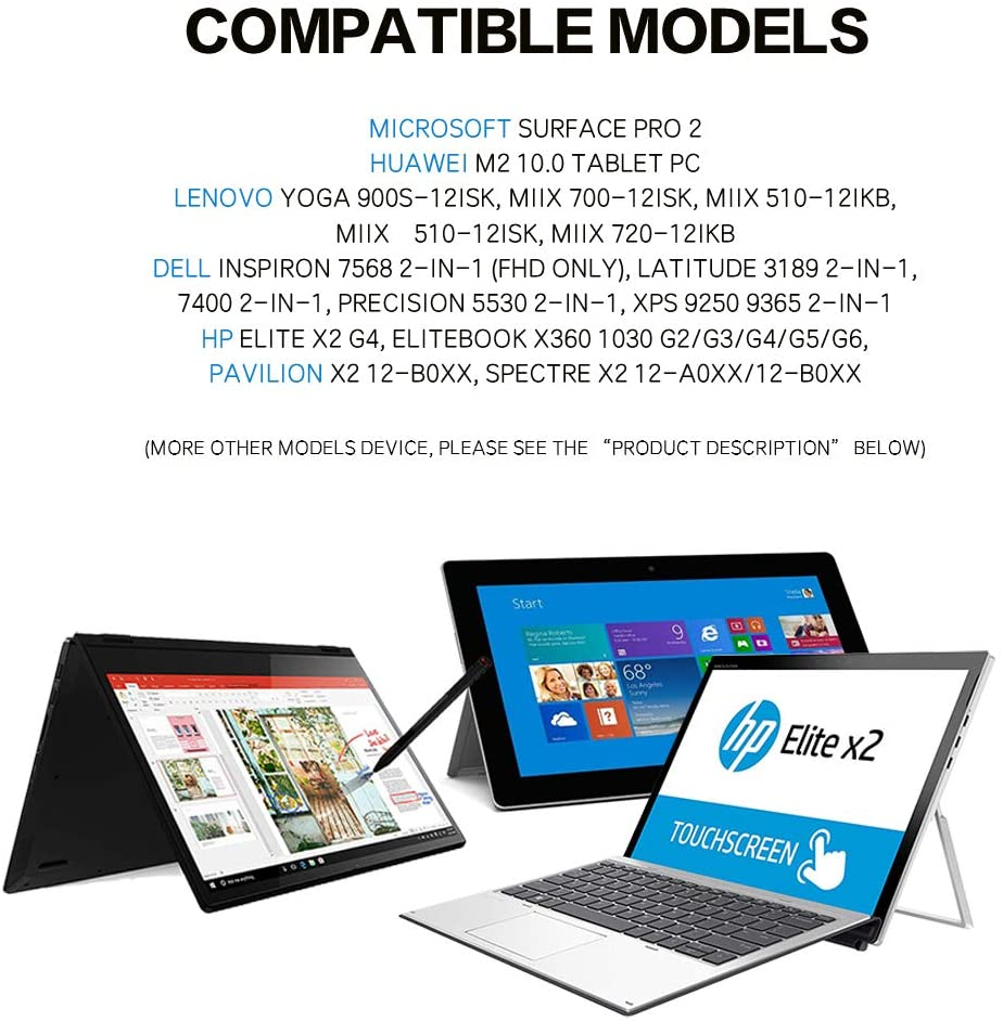 M Lenovo Active Capacity Pens For Touchscreen Laptop For Lenovo Yoga 900S-12Isk