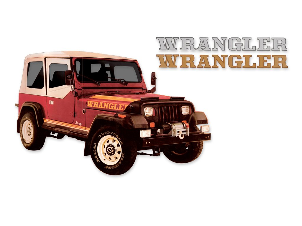 1987 1988 Jeep Wrangler Yj Decals Stripes Kit Gold Hard Top Automotive