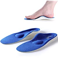 Walkomfy Plantar Fasciitis Pain Relief Orthotics - Flat Feet Arch Support Insoles Shoe Inserts for Men and Women/Sports…
