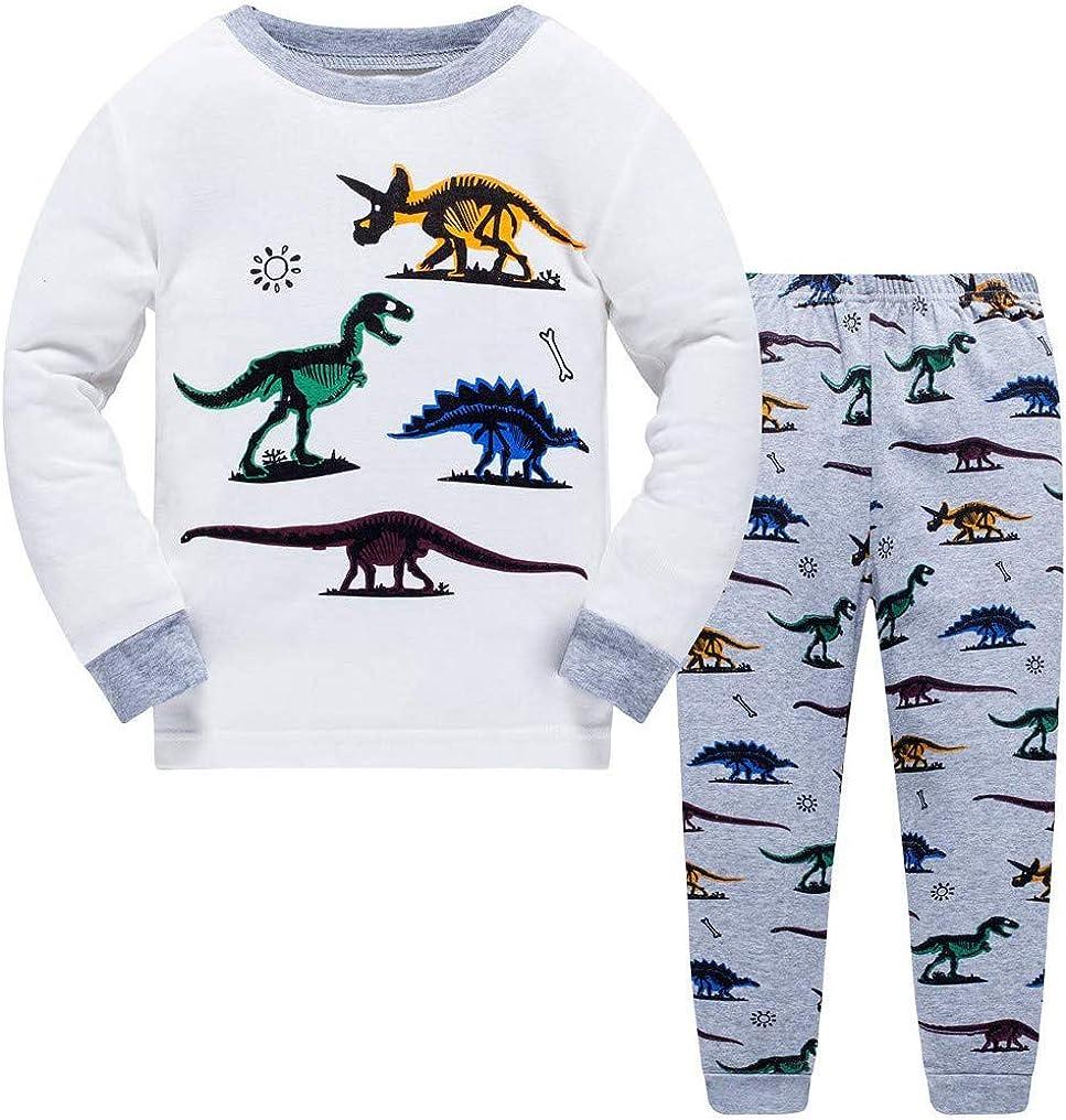 Kids//Boys Cotton Pyjamas Pyjama Childrens PJs Age 3-12 Years