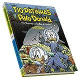 capa de Tio Patinhas e Pato Donald. Biblioteca Don Rosa. O Tesouro na Bolha de Vidro