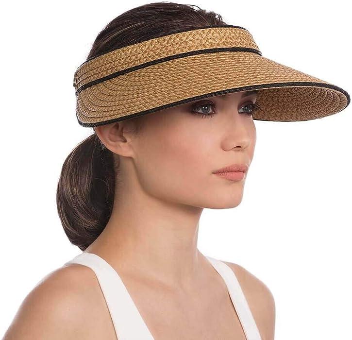 Eric Javits Luxury Fashion Designer Women s Headwear Hat - Va Voom -  Natural Black 22af9a25ce2