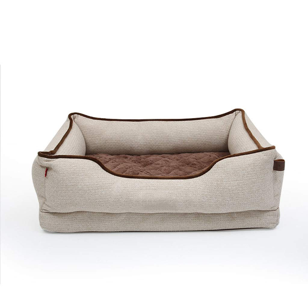 906823cm LY-YL006 Luxurious and comfortable pet bed super soft and comfortable cat dog bed, durable removable and washable pet litter (Size   90  68  23cm)