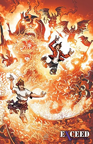 - Bill and Ted Go To Hell #1 Exceed Exclusives Limited Edition Variant Cover