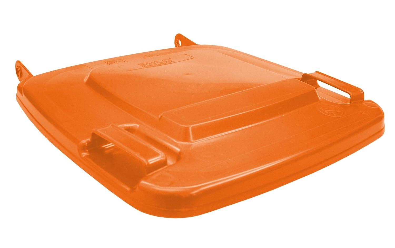 Made in Germany Sulo M/ülltonnendeckel Deckel M/ülltonne Ersatzdeckel Orange MGB 120