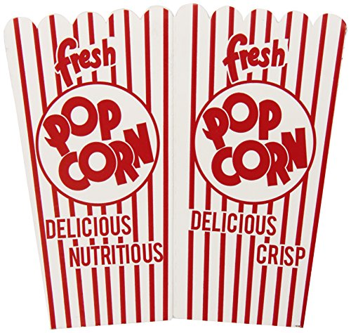 Amazon.com : Snappy Popcorn 44E Open-Top Popcorn Box, 100/Case ...