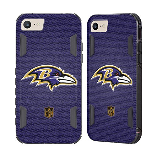 Official NFL Football Baltimore Ravens Logo Black Evolution Case for Apple iPhone 7 / iPhone - Case Football Black Baltimore Ravens