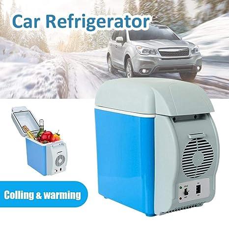 Eruditter Congelador del Coche, 12V 7.5L Auto Car Mini Frigorífico ...