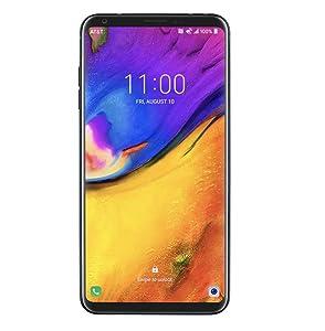"LG V35 ThinQ (64GB, 6GB RAM) 6.0"" QHD+ FullVision, Dual Camera, 4G LTE GSM AT&T Unlocked Smartphone US Warranty (Black)"