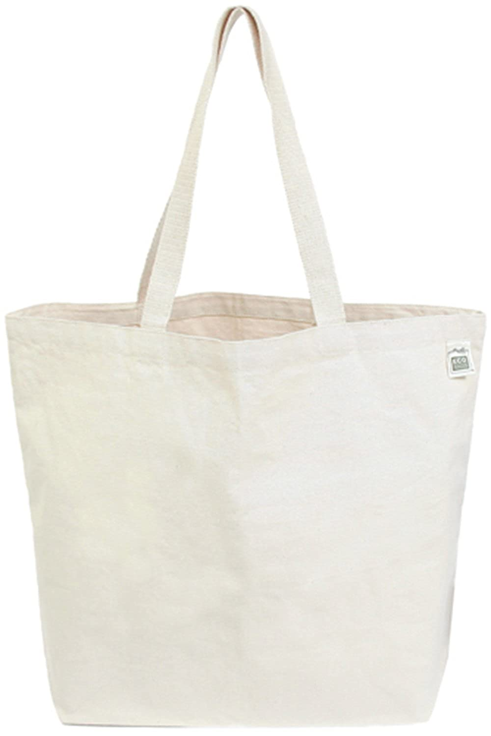 ECOBAGS Everyday Shopper Canvas Tote Bag