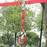Hokilands Swing Gymnastic Ring for Slackline