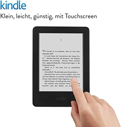 Kindle Ereader 15 2 Cm 6 Zoll Touchscreen Ohne Spiegeleffekte Wlan Schwarz Mit Spezialangeboten Vorgängermodell 7 Generation Amazon Devices