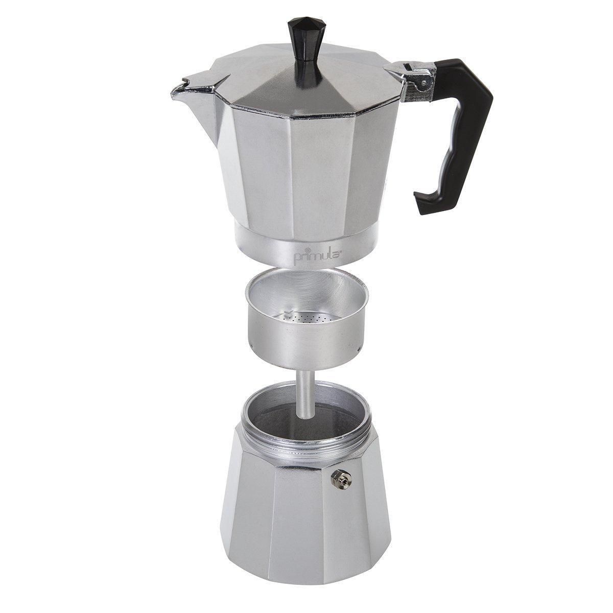 Epoca PES-3306 - Cafetera (Aluminio, Estufa, Aluminio, De café molido, Café expreso, 10.312 cm): Amazon.es: Hogar