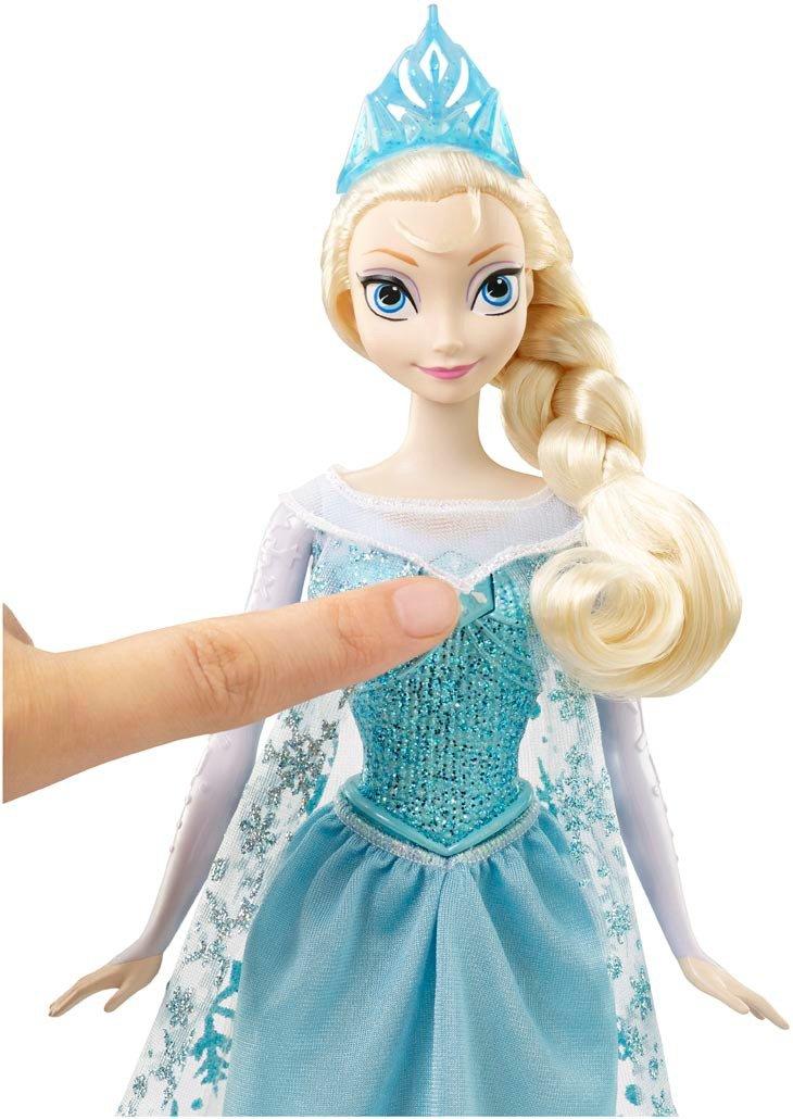 disney frozen poupe princesse cantarina 33 cm anna 323 x 193 x 56 amazonfr jeux et jouets - La Reine Des Neiges Elsa